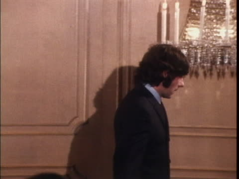 of polanski zoom in to him looking nervous - murder stock videos & royalty-free footage