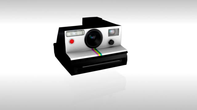 polaroid single picture - polaroid stock videos & royalty-free footage