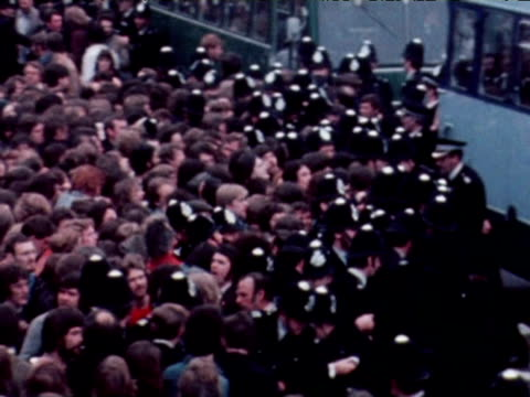 police and demonstrators clash in national front march 1977 - national front stock videos & royalty-free footage