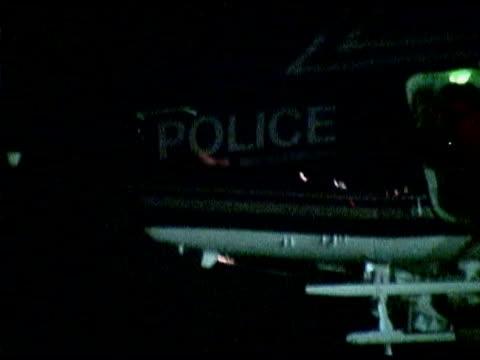 police and helicopter - ノースカロライナ州点の映像素材/bロール