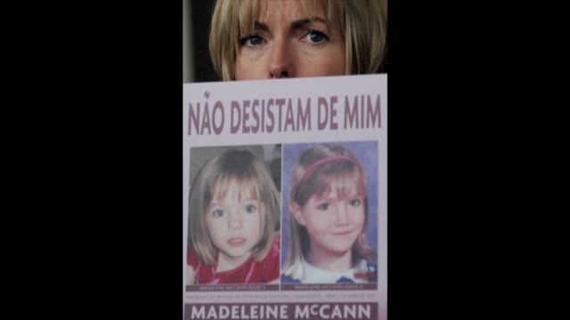 police are searching a garden allotment in the northern german city of hanover in connection with the disappearance of british girl madeleine mccann... - algarve stock videos & royalty-free footage