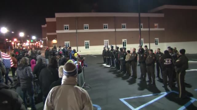 Police arrested 3 protestors during demonstrations in front of the Ferguson Police Department as part of continued demonstrations in regards to the...