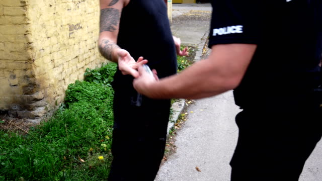 police arresting drugs dealer - arrest stock videos & royalty-free footage