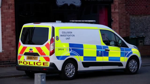 Police attend the scene where a twoyearold boy died after a hitandrun on MacDonald Road in Coventry His sixyearold brother was also hit by the...