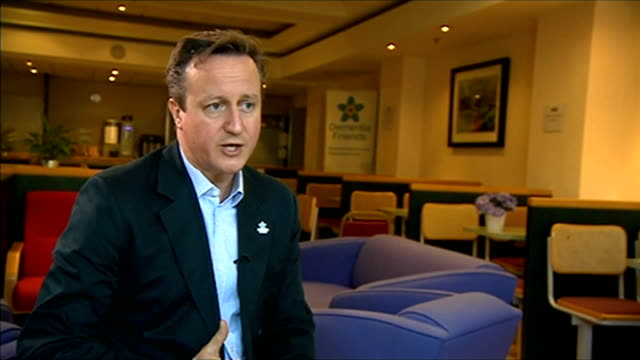 Police believe three missing schoolgirls are travelling to Syria to join Islamic State Buckinghamshire Saunderton INT David Cameron MP interview SOT...