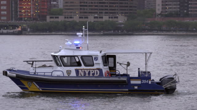 NYPD Police Boat on the East River