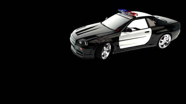 police car hd - police car stock videos & royalty-free footage