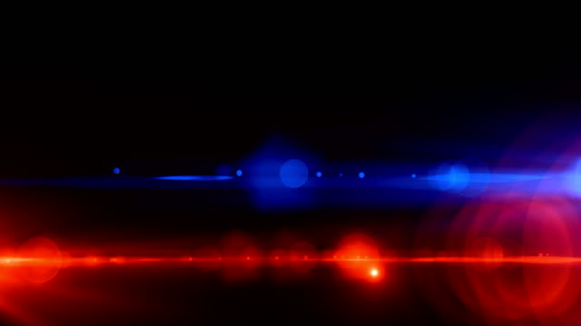 police car lights close-up - police force stock videos and b-roll footage
