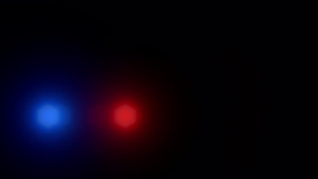 police car lights flash - police vehicle lighting stock videos & royalty-free footage
