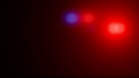 polizei-auto leuchtet flash - fbi stock-videos und b-roll-filmmaterial