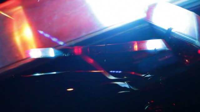 Police Car Lights Montage