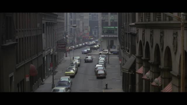 WS TS Police car on Wall Street / New York City, USA