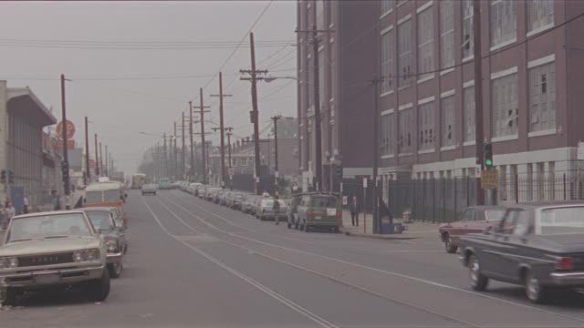 police car run-bys, philadelphia city streets (cba) - philadelphia pennsylvania stock videos & royalty-free footage