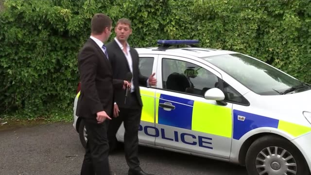 police cars without sirens used in emergencies; midlands: wolverhampton: vauxhall corsa police car [without siren and designed for neighbourhood... - sergeant stock videos & royalty-free footage