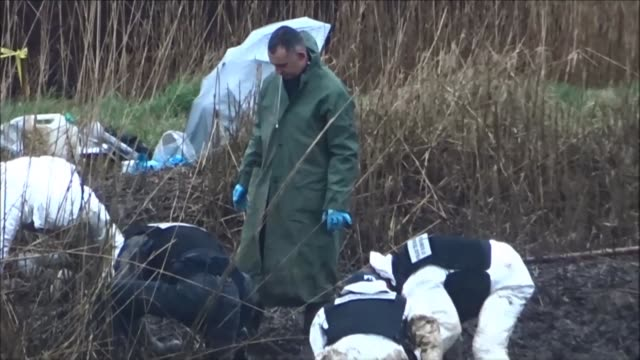 police continued to search for remains of the troadec family in western france after father's brother-in-law confessed to killing the family of four... - confession law stock videos & royalty-free footage