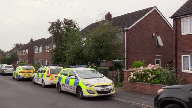 A police counterterrorism raid on a property in Greymist Avenue Woolston Warrington