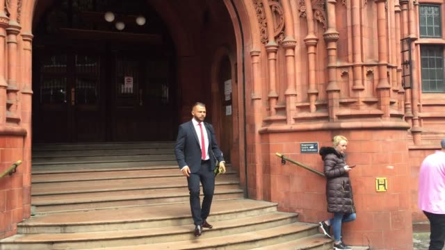 police custody sergeant has denied assaulting a man who was detained by officers last december. sgt nathan legend pleaded not guilty to two charges... - midlands occidentali video stock e b–roll