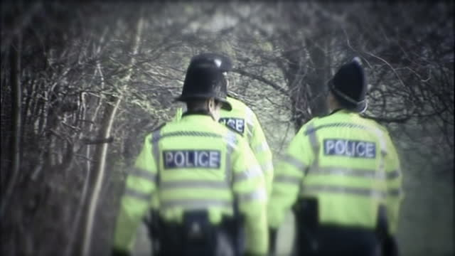 police forces across country could soon be told to consider tip offs from psychics to help them solve cases showing archive footage of police... - missing persons stock videos & royalty-free footage