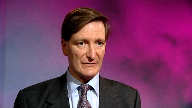 police head of antiterror issues apology to conservatives over whitehall investigation england london int dominic grieve mp interview sot astonished... - dominic grieve stock videos and b-roll footage