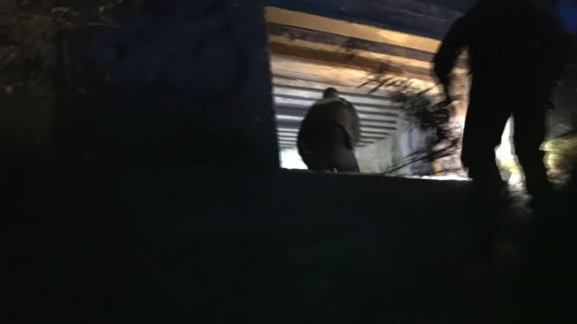 police in calais searching for migrants attempting to cross the channel to the uk - crossing stock videos & royalty-free footage