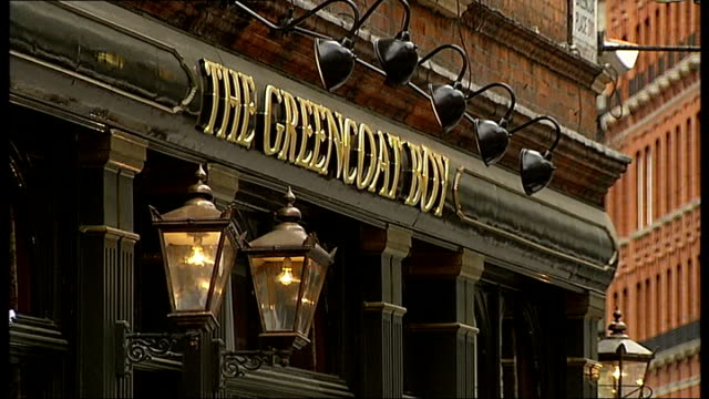 police investigate homophobic incident at london pub; england: london: westminster: ext various general views the greencoat boy pub exterior 6.6.2010... - homophobia stock videos & royalty-free footage