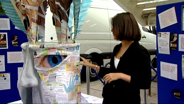 police issue warning over scam letters; england: london: int graphicised sequence of scam mail letters south bank: ext reporter to camera next to... - sergeant stock videos & royalty-free footage
