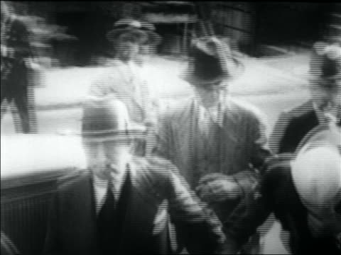 police leading legs diamond with head down on street - 1930 stock videos & royalty-free footage