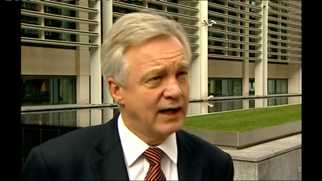 Police lose track of over 300 convicted sex offenders London EXT David Davis MP interview SOT when other criminals don't give an address they are...