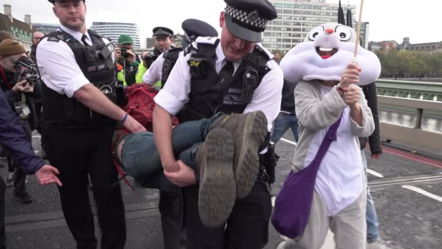 GBR: Extinction Rebellion Protests In London