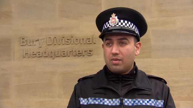 police officer mohammed nadeem hailed a hero after saving drowning man; bury: ext pc mohammed nadeem interview sot/ pc mohammed nadeem posing for... - desktop pc stock videos & royalty-free footage