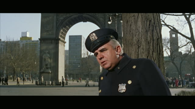 ms police officer writing ticket in washington square park  / new york city, new york, usa - greenwich village stock videos & royalty-free footage