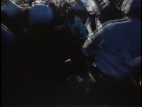 police officers use force to try to break up a demonstration in the streets of chicago during the 1968 democratic national convention. - 1968 stock videos & royalty-free footage