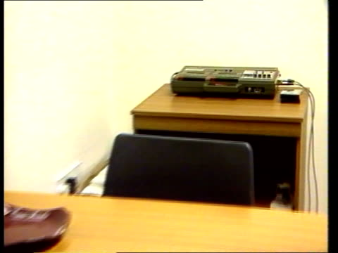 Edinburgh MS Interview room ZOOM tape recorder CMS Cassette put into recorder