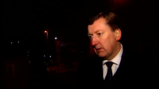 police raid drugtrafficking network detective superintendent steve richardson interview sot ends - trafficking stock videos and b-roll footage
