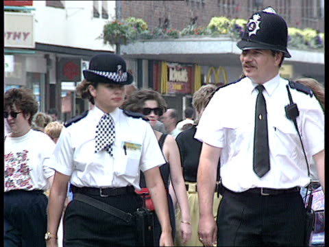 Police reforms MACLEAN MS Policeman and Policewoman toward on beat LACMS Ditto