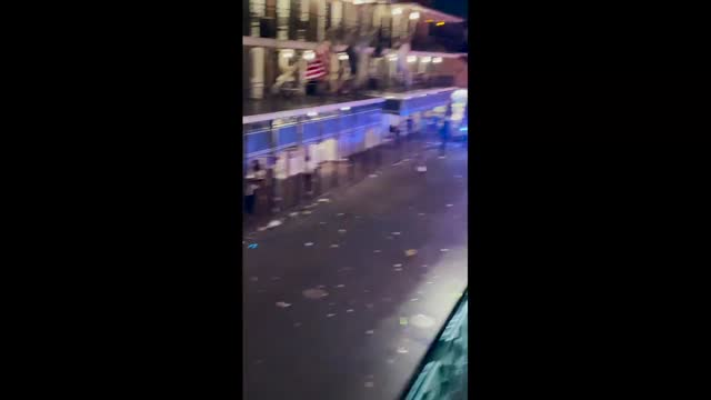 police said one individual was detained and five victims were reported after a shooting near the intersection of bourbon street and orleans avenue in... - https stock videos & royalty-free footage