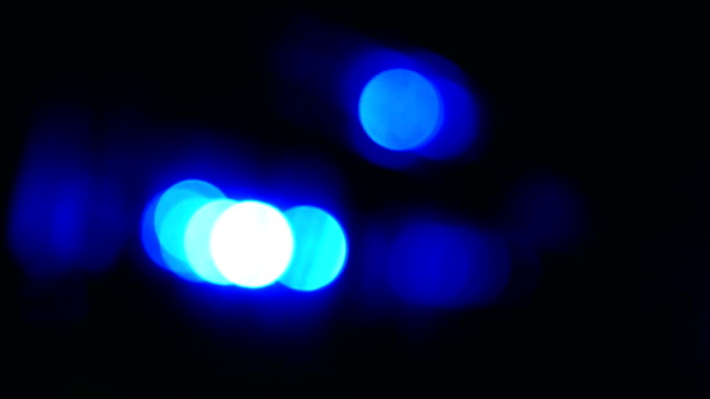 police siren - police vehicle lighting stock videos & royalty-free footage