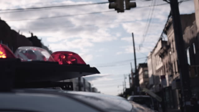 police sirens in brooklyn. - editorial stock videos & royalty-free footage