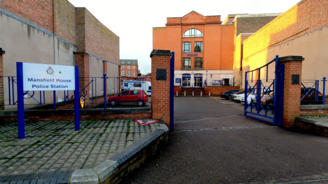 police station leicester - police station stock videos & royalty-free footage