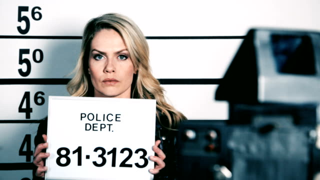 police station mugshot - mug shot stock videos & royalty-free footage