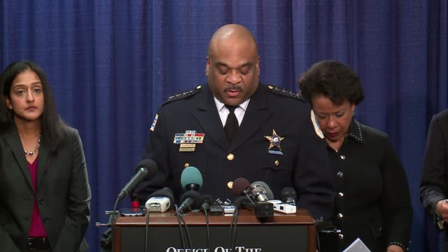 WGN Police Superintendent Eddie Johnson reacts to the DOJ's Chicago Police Department report We Need to Do Better on Jan 13 2017