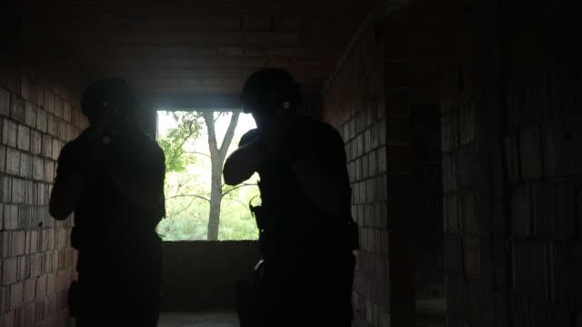 Police team ona mission