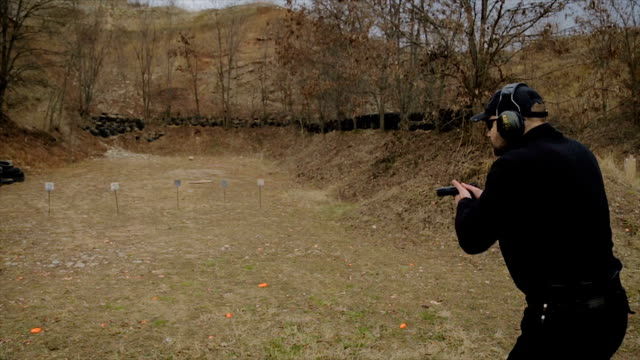 police training class - target shooting stock videos & royalty-free footage