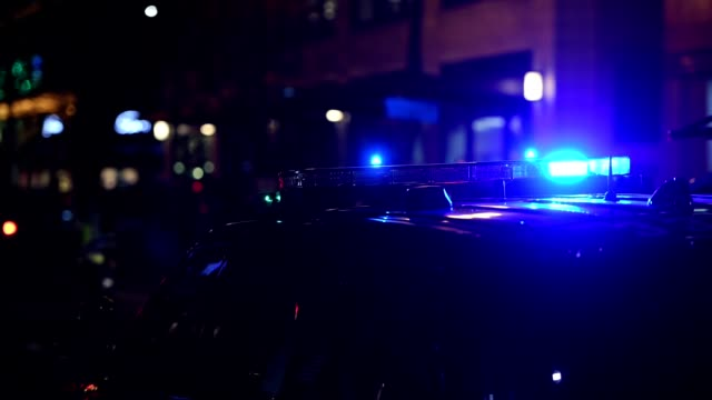 police - police vehicle lighting stock videos & royalty-free footage