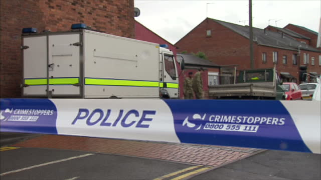 police who found a suspicious item near a mosque in the west midlands say they're treating the incident as a hate crime bomb disposal experts were... - west midlands stock videos & royalty-free footage