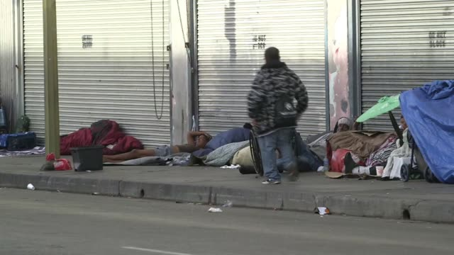 policemen on low-income streets of - crisi video stock e b–roll