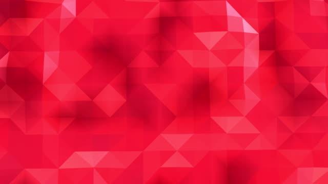 vídeos y material grabado en eventos de stock de poligonal geometrik yüzey sorunsuz döngü - geometría