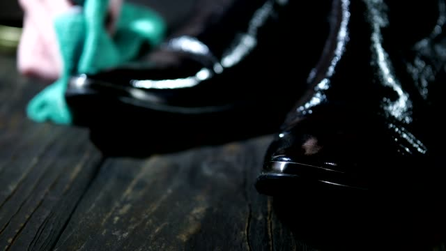 polishing shoes - polishing stock videos & royalty-free footage