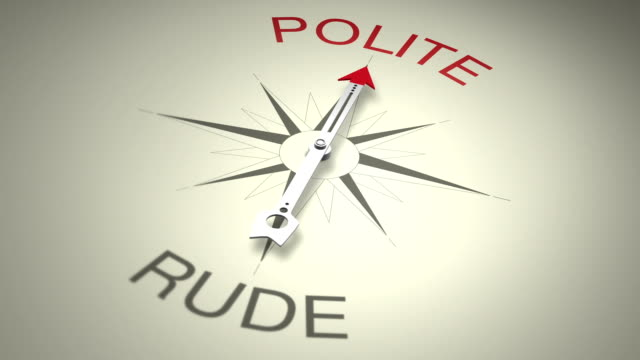 polite versus rude - social grace stock videos & royalty-free footage