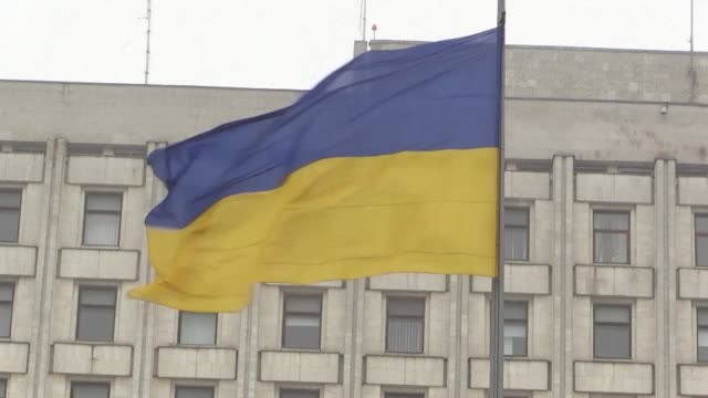 political analyst anatoliy oktysyuk believes that a demand for new faces and a distrust of old politicians could be the reason why ukrainian comedian... - governmental occupation stock videos & royalty-free footage